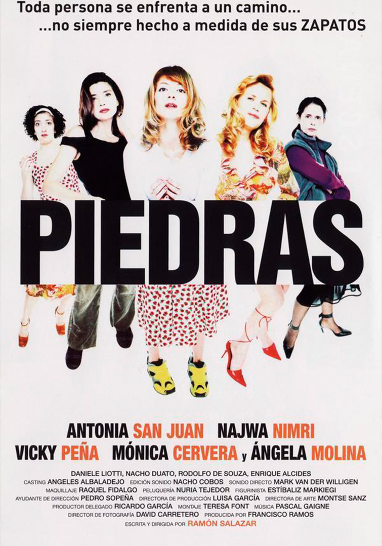 Presentación y proyección de la película 'Piedras'