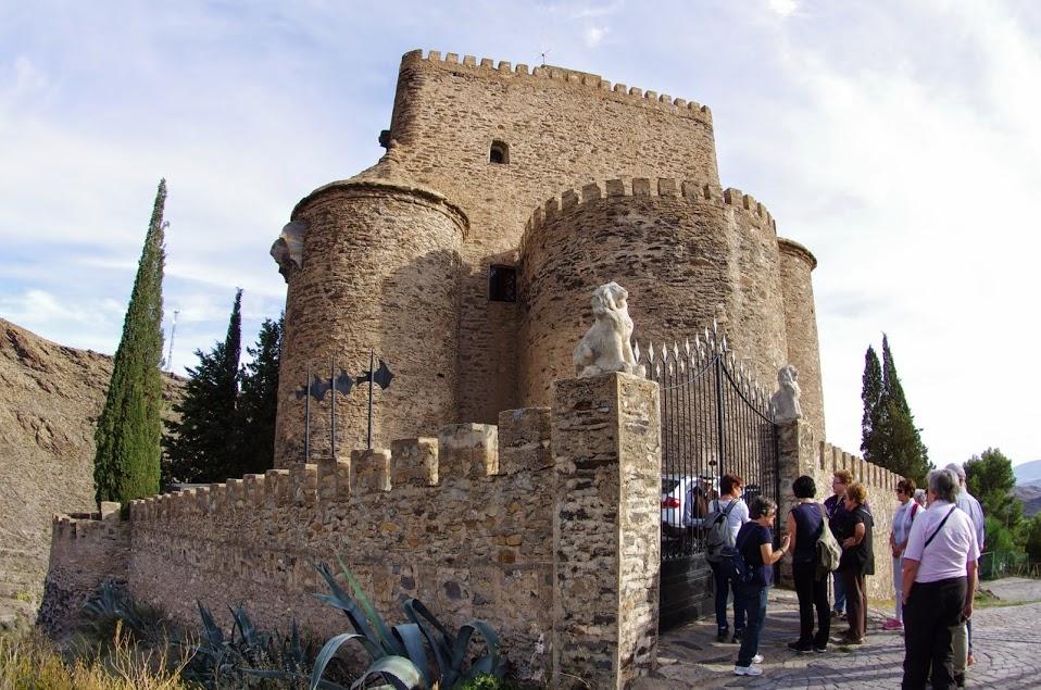 Castillo de Gérgal © Fotografía José Ángel Fernández