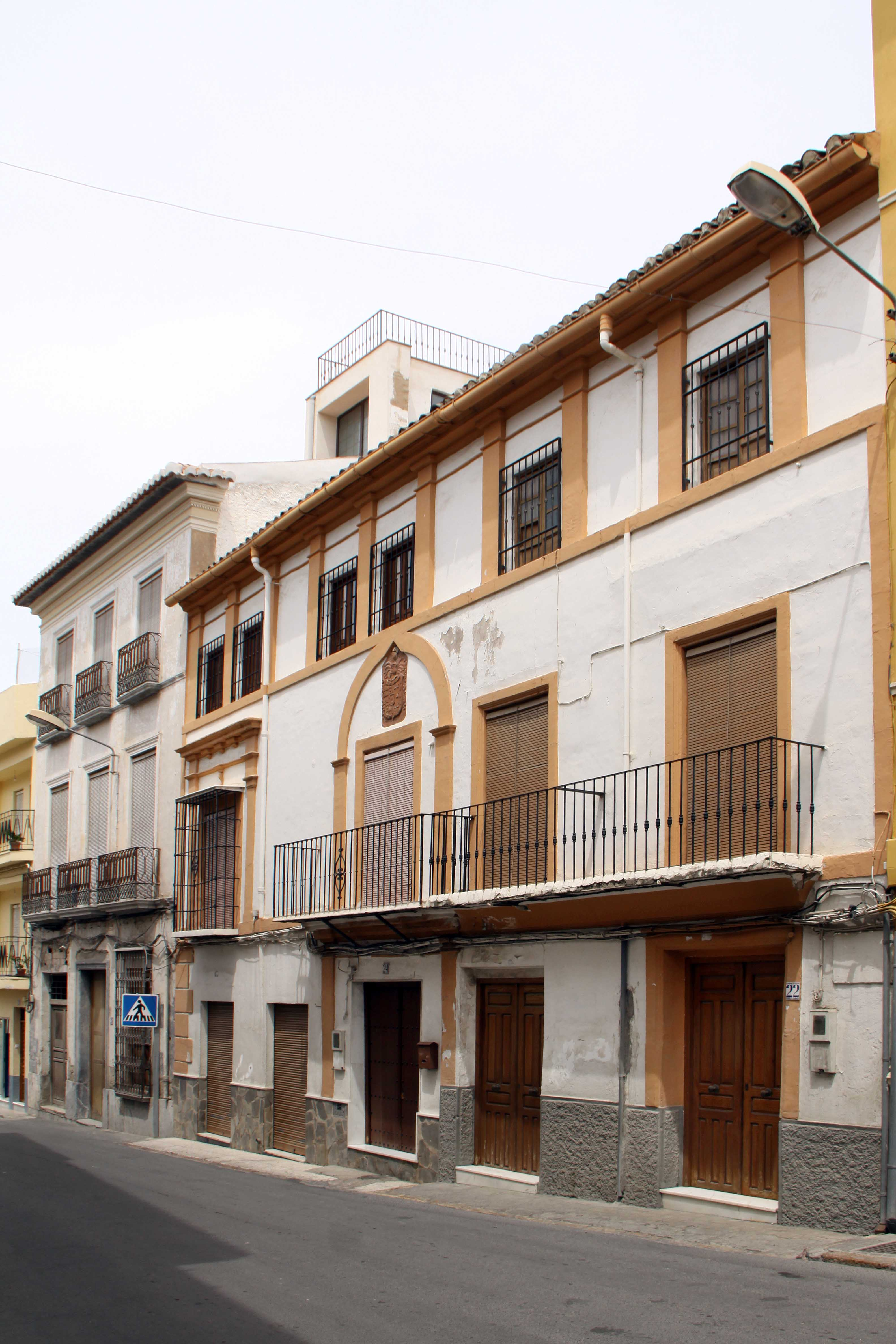 Casa de la familia Zapata-Pimentel en la calle del Agua. © Fotografía Pako Manzano