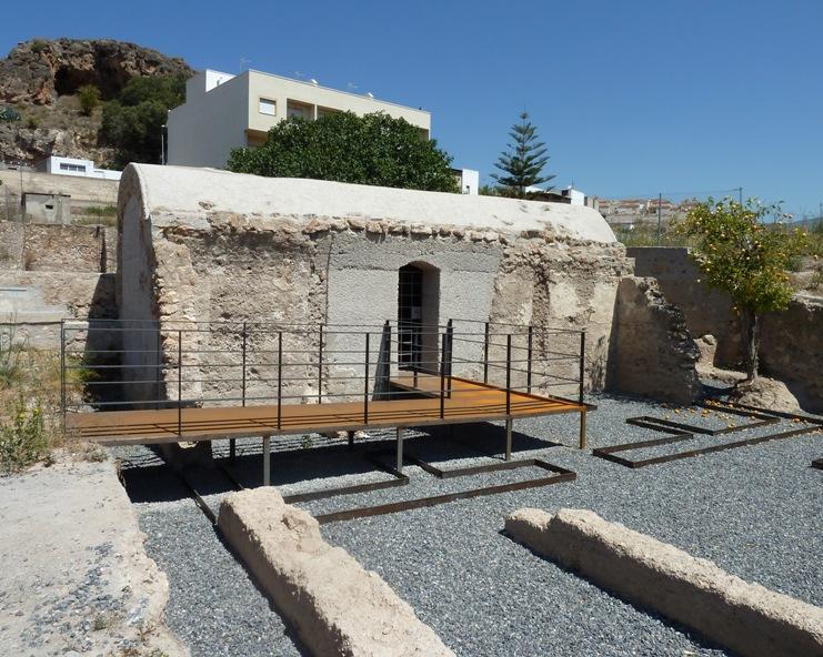 Baños de Benejí, recientemente restaurados. © Fotografía: María Navarro