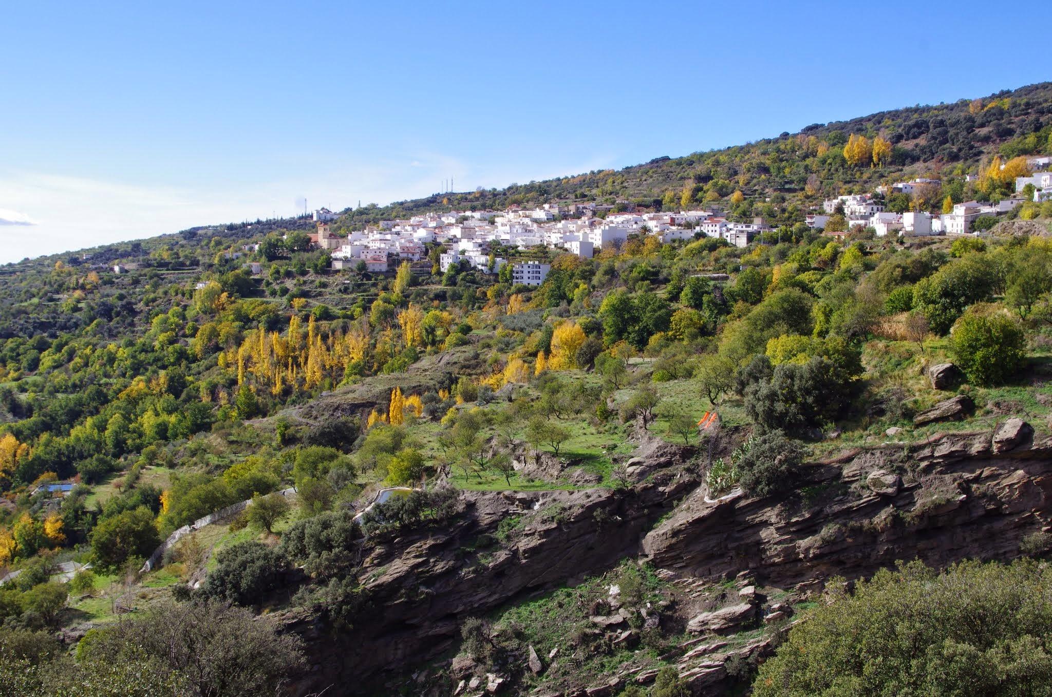 Vista general de Paterna del Río Fotografía ©José Ángel Fernández