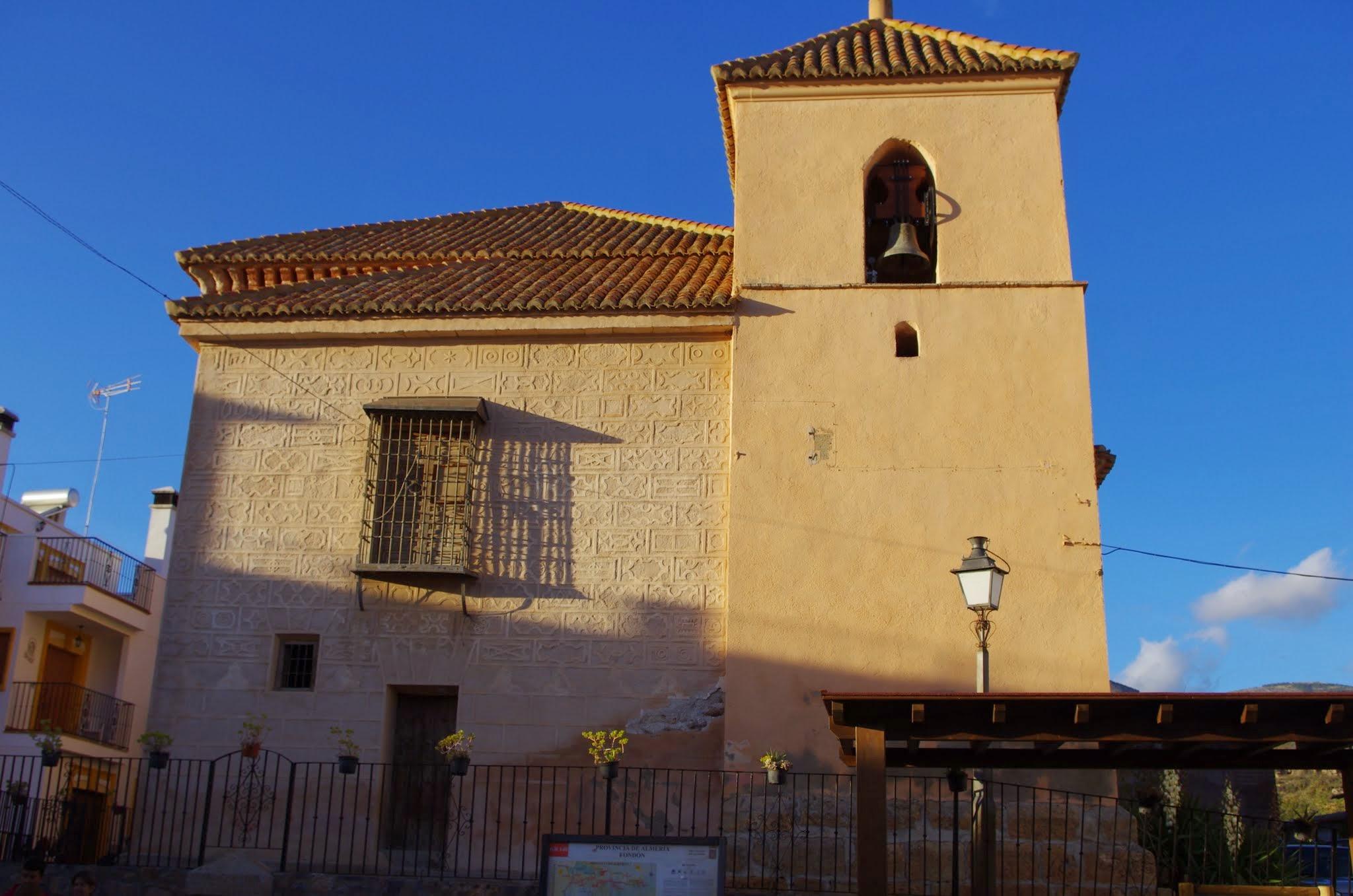 Iglesia de Bencid. Fondón © Fotografía José Ángel Fernández