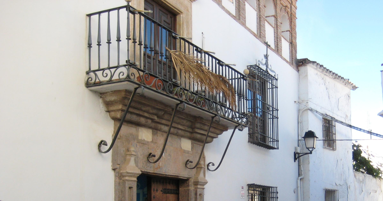Detalle de la fachada de la Casa palacio de las Godoyas ©Fotografía M Navarro