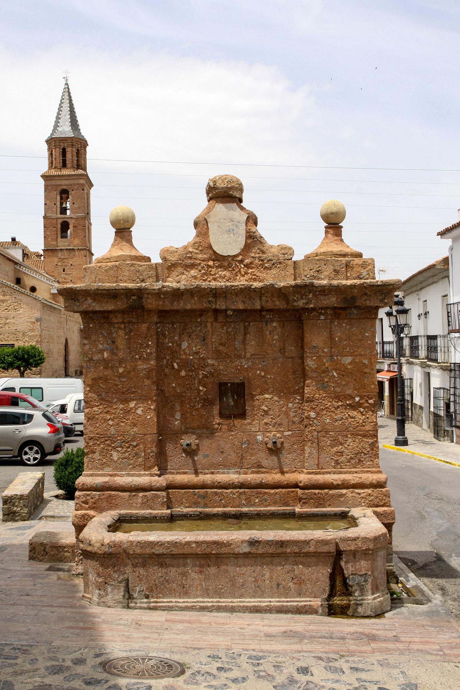 Fuente Grande o de Carlos IV. © Fotografía: Pako Manzano