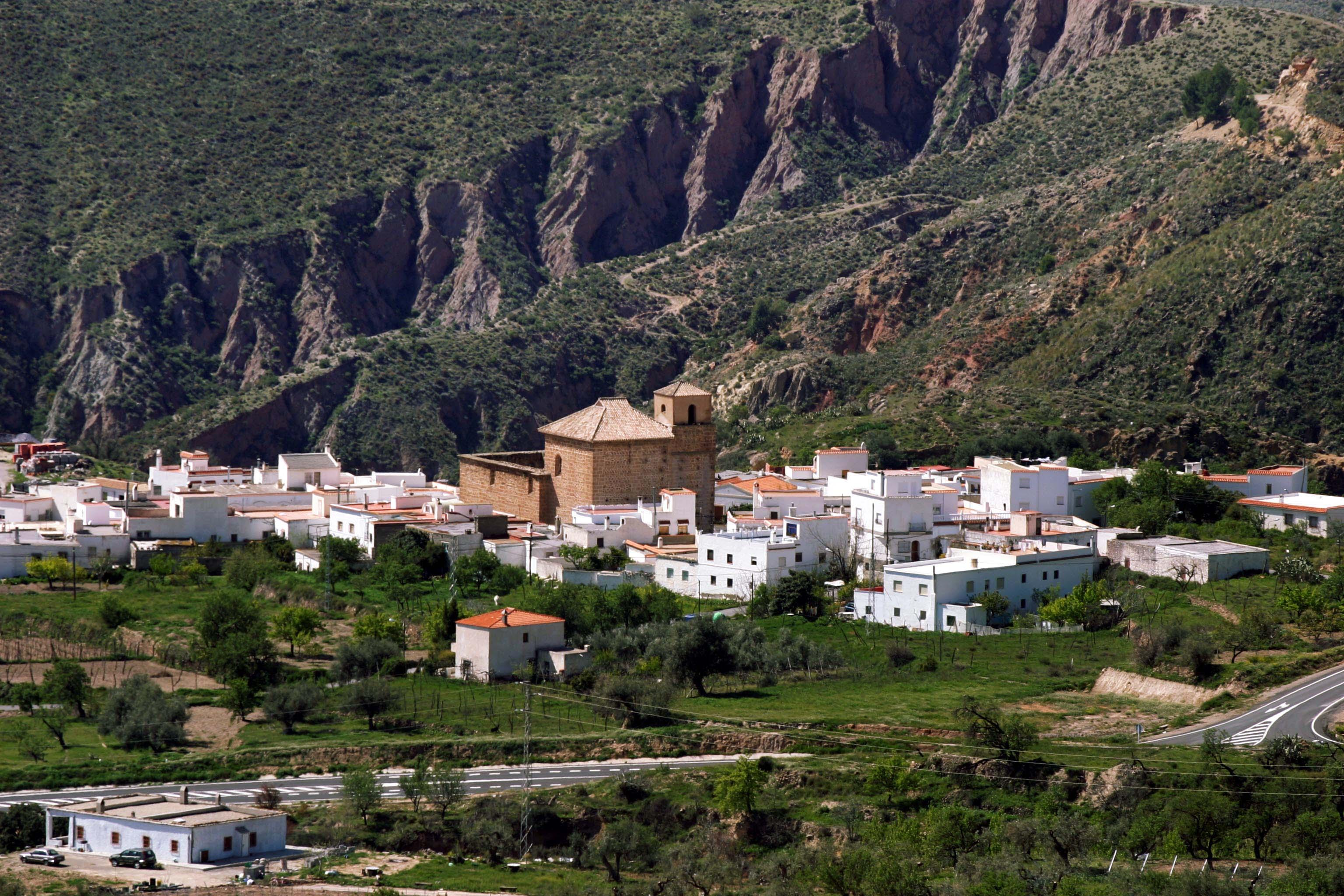 Vista general de Almócita. © Fotografía: Pako Manzano