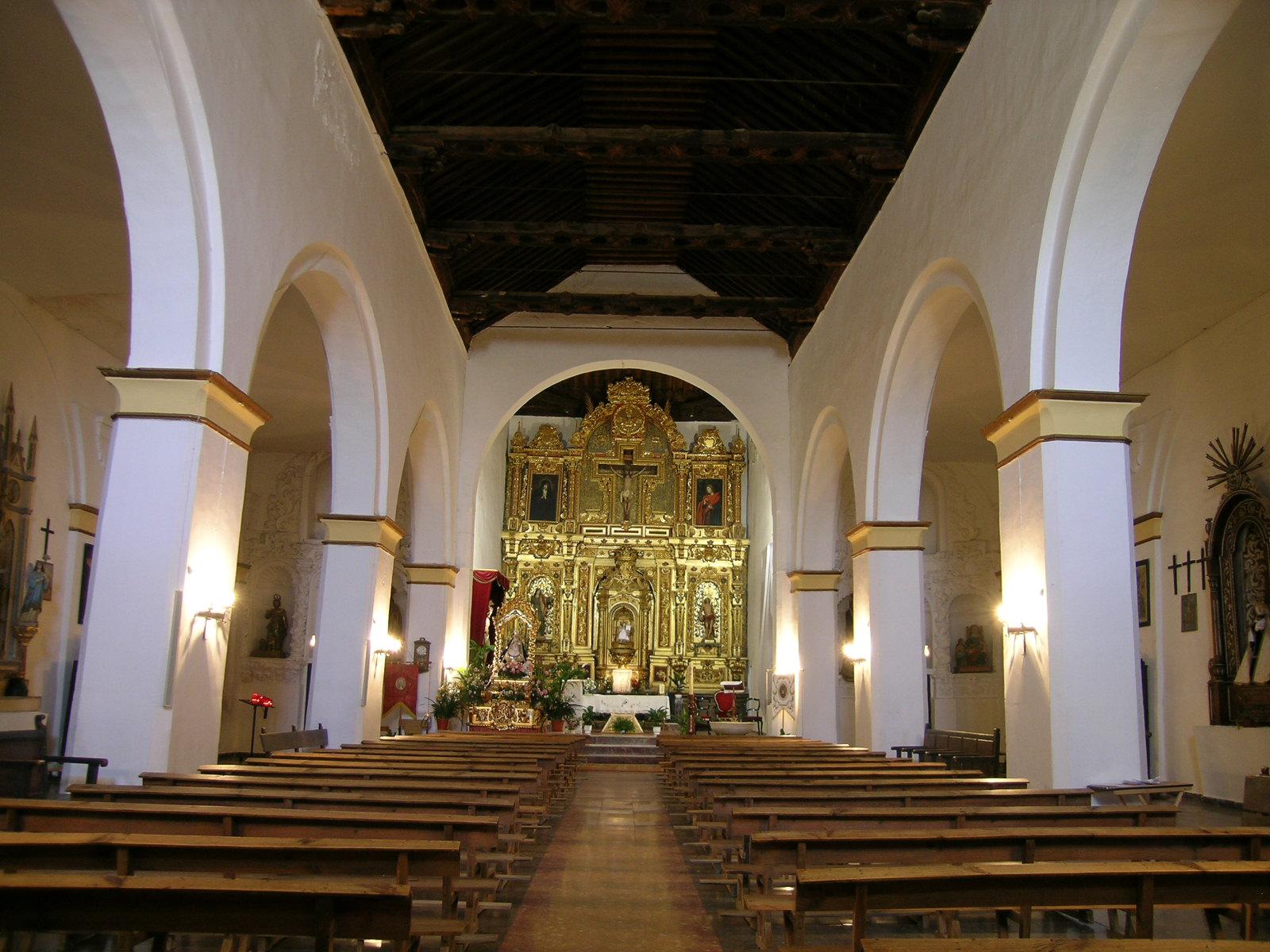 Interior de la iglesia. © Fotografía: Pako Manzano