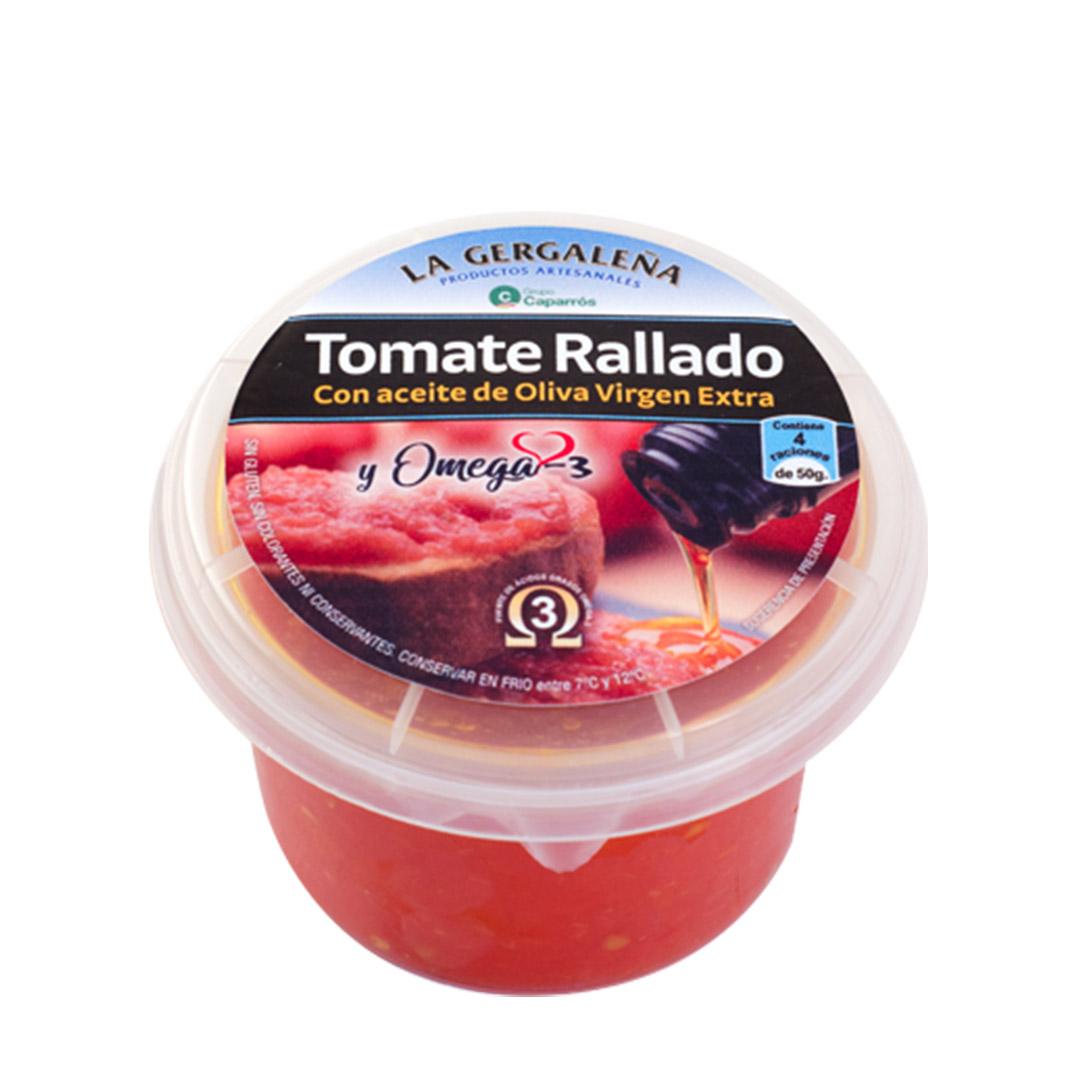 Tomate natural rallado con omega 3