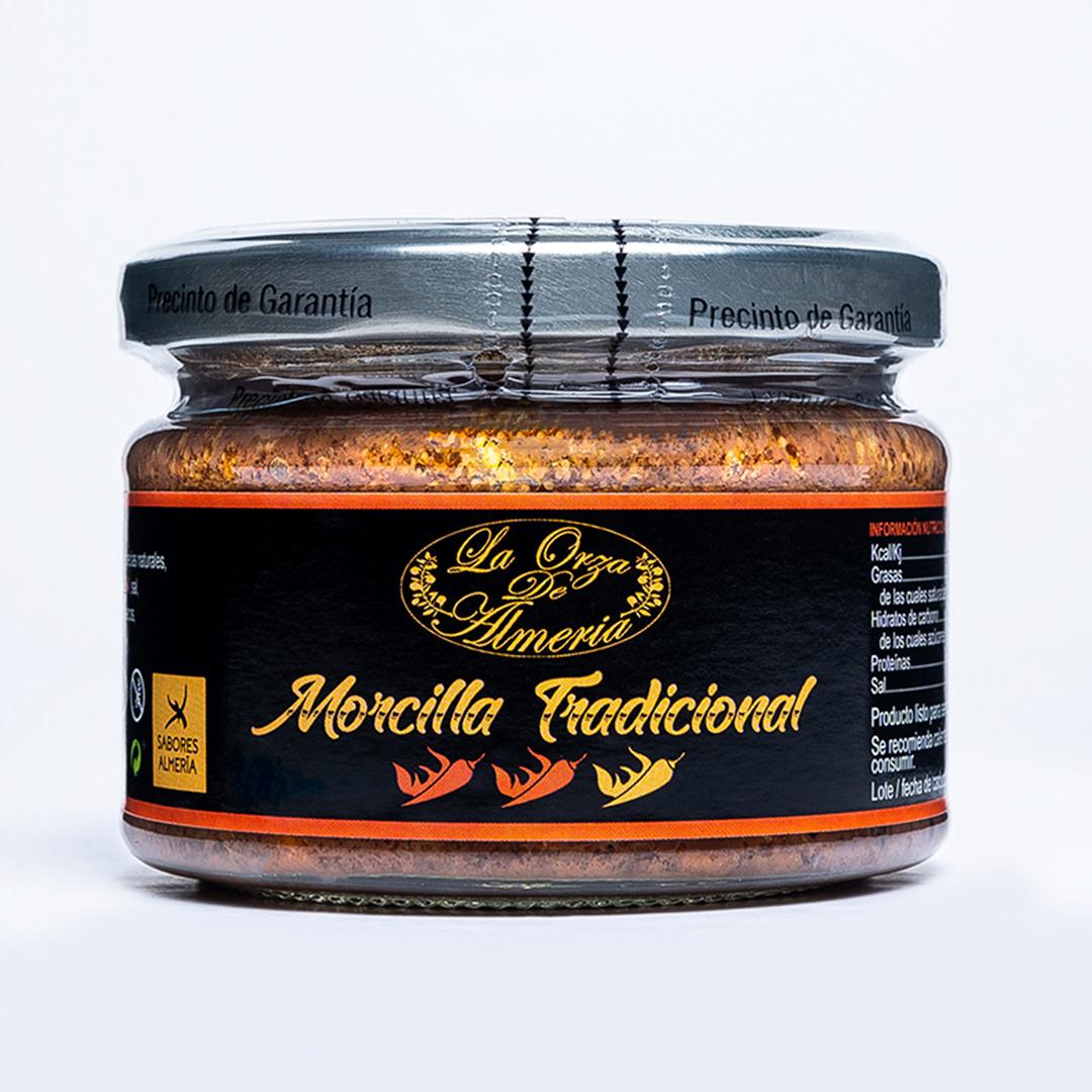 Morcilla tradicional picante