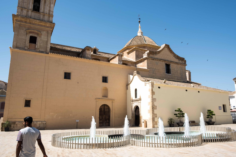 Exterior de la Iglesia de Ntra Sra de la Asunción de Huércal-Overa © Fotografía: Paco Bonilla