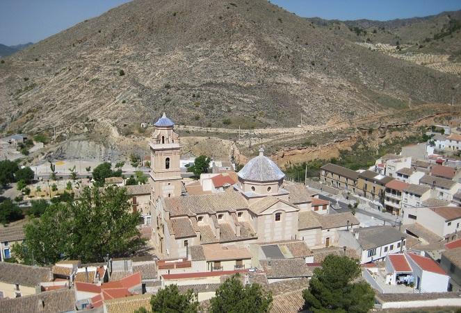Vista general de Oria desde la alcazaba © M Navarro