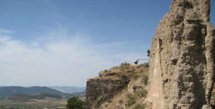 Restos de la alcazaba de Oria ©M Navarro