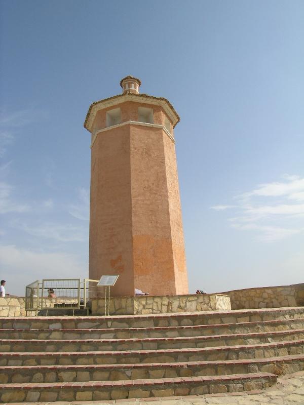 Torre vigía, referente urbano de Arboleas. © Fotografía: Alfonso Ruiz