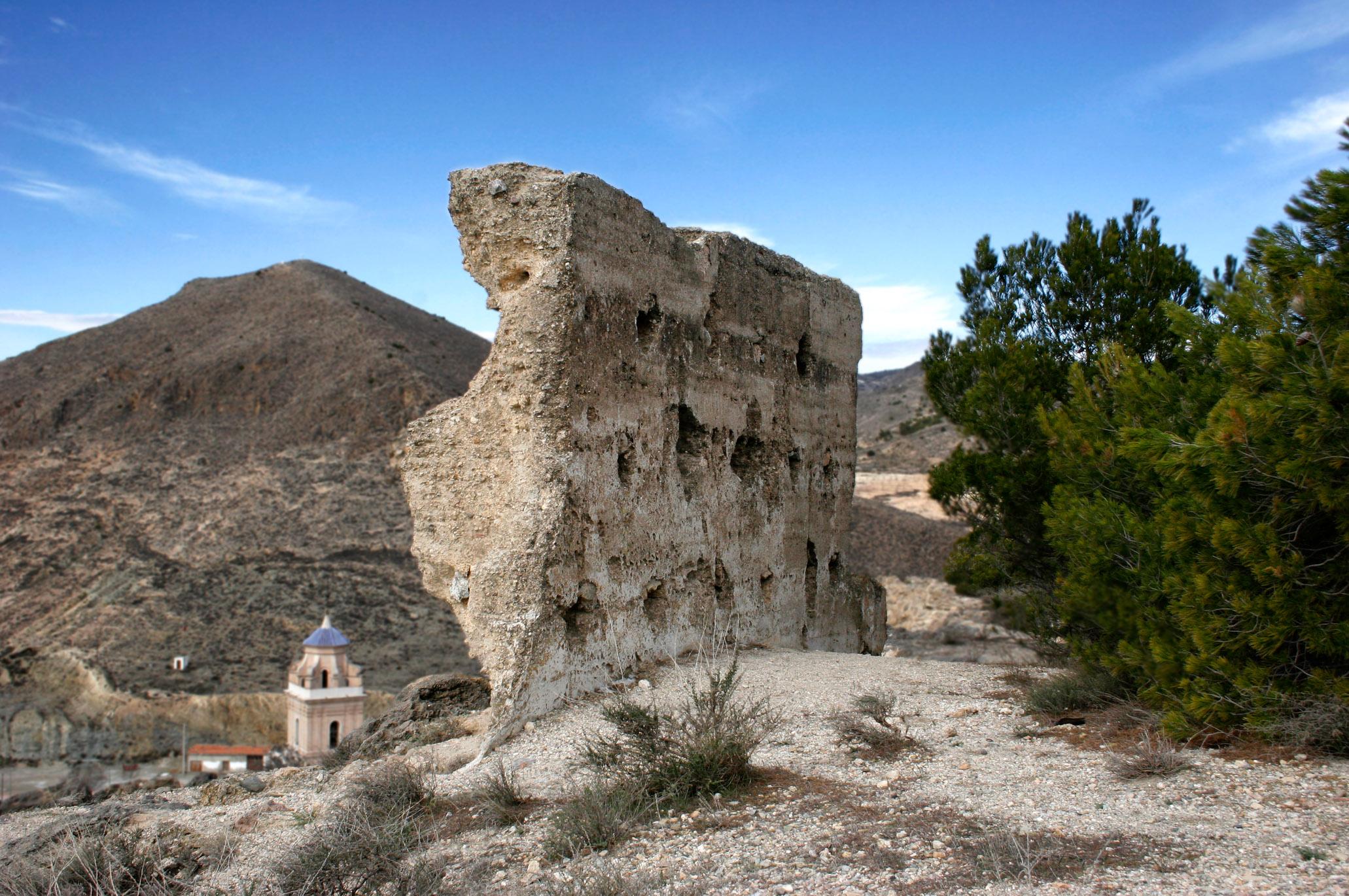 Restos de la Alcazaba de Oria. © Fotografía: Pako Manzano