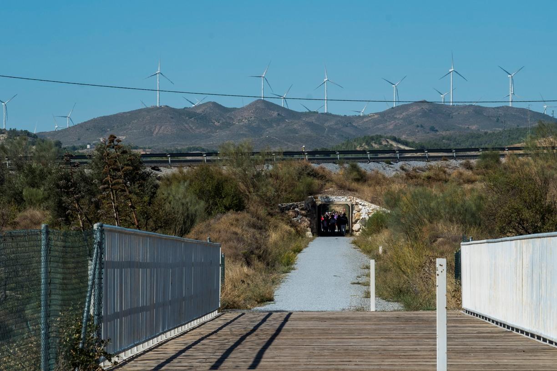 Ruta antigua vía del tren camino del cargadero de hierro. Serón © Fotografía: Paco Bonilla