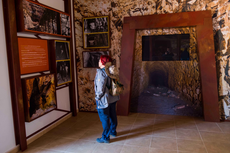 Sala del interior del Centro de Interpretación © Fotografía: Paco Bonilla