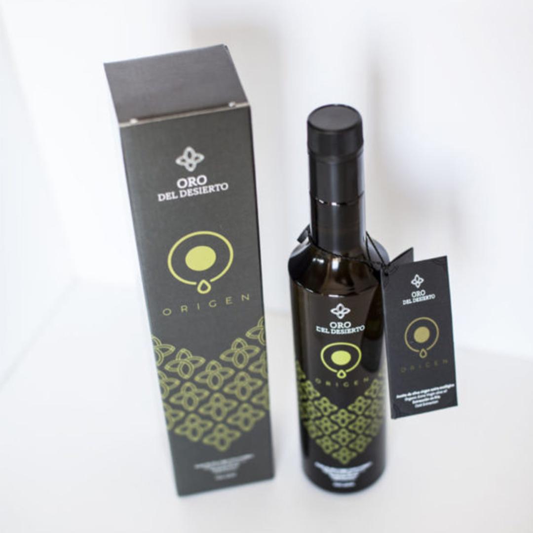 Aceite oliva virgen extra ecológico oro del desierto