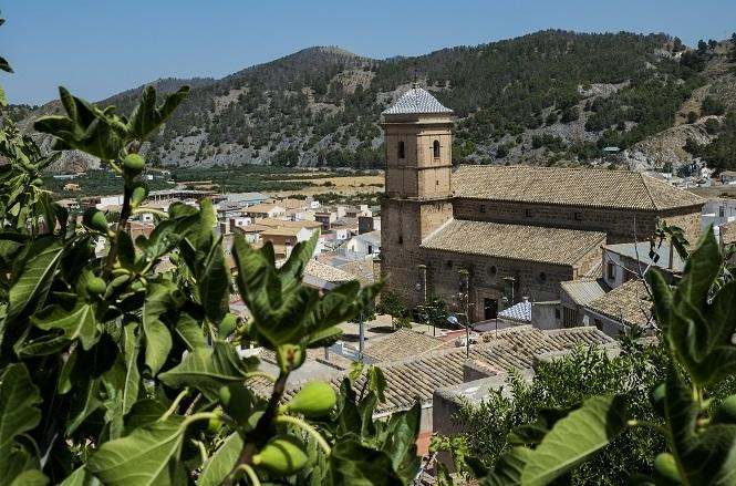 Vista de la Iglesia de San Ginés en Purchena © Paco Bonilla