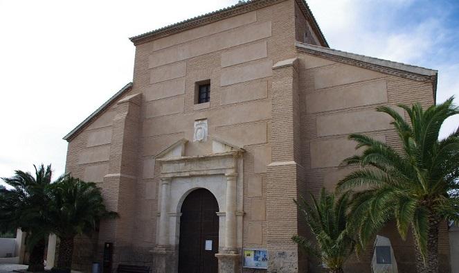 Volumen de la iglesia de Serón © José Ángel Fernández