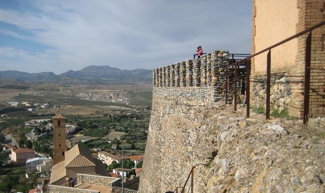 Vista de la iglesia de Serón desde el castillo© María Navarro