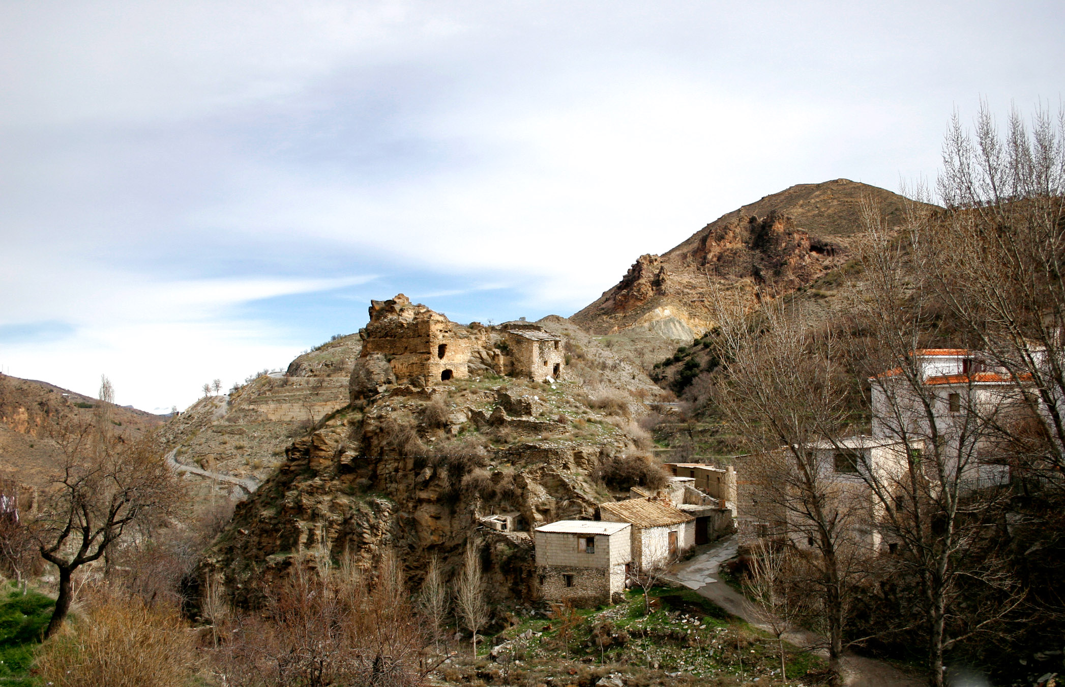 Castillo de Bacares antes de su reciente restauración. © Fotografía: Pako Manzano