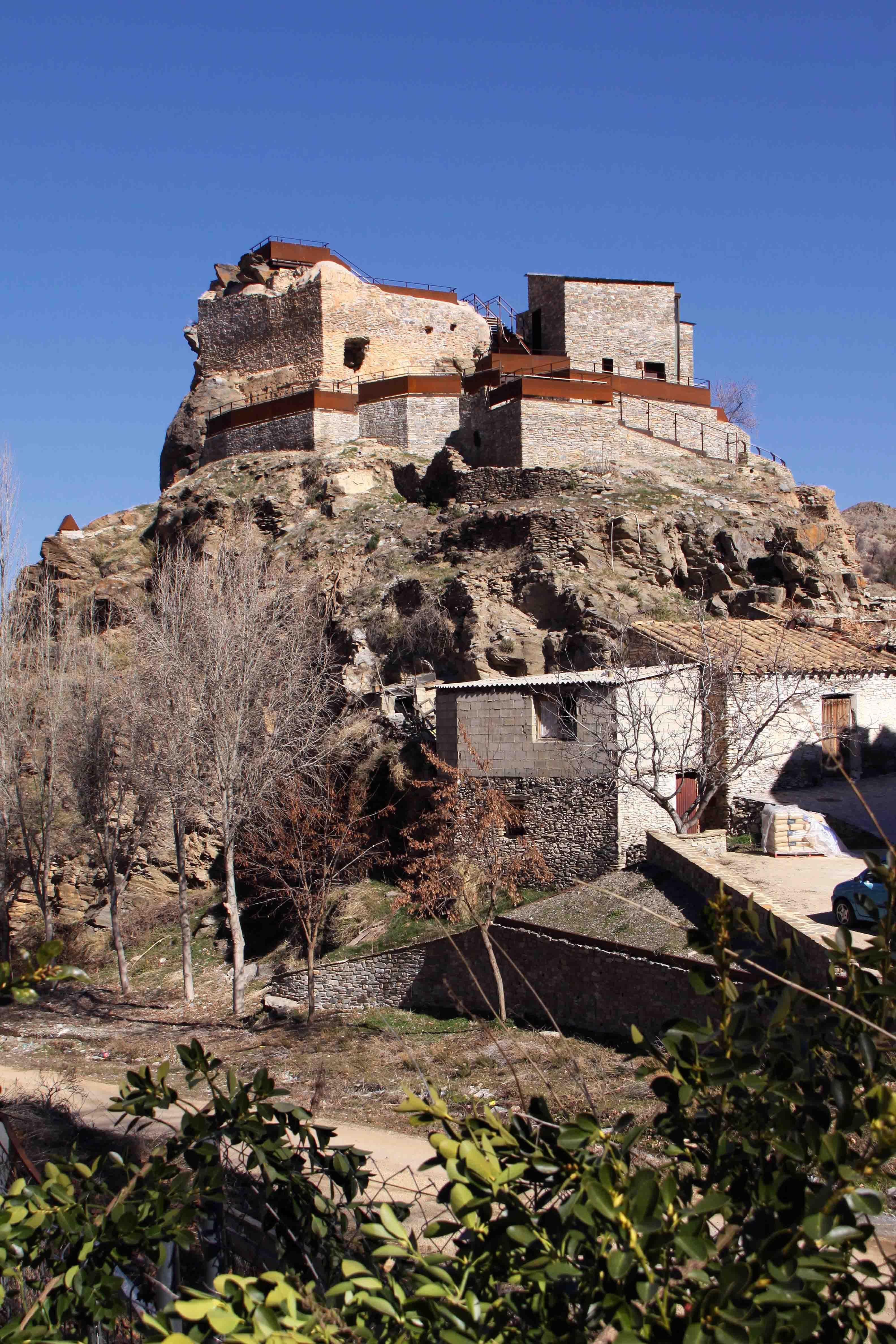 Volumen del castillo recientemente rehabilitado. © Fotografía: Pako Manzano