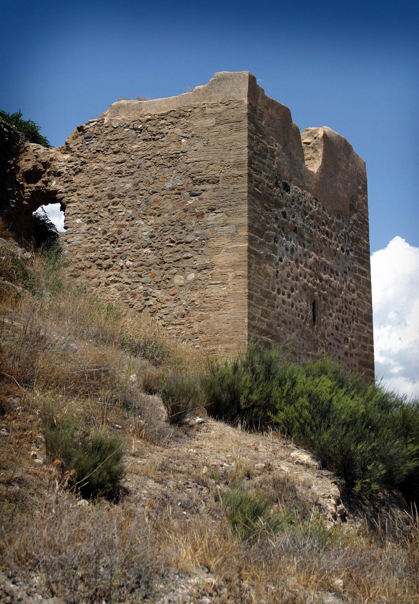 Vista general de la Alcazaba. © Fotografía: Rafael Pozo