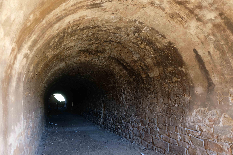 Interior del túnel del cargadero © Fotografía: Paco Bonilla