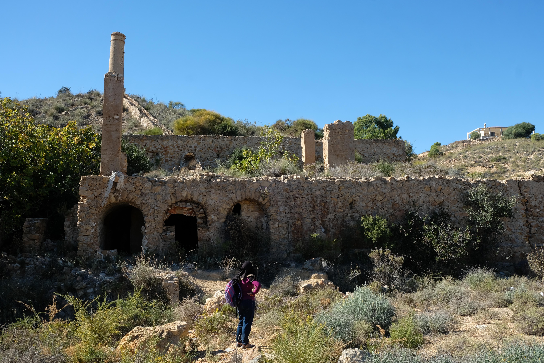 Ruinas de la fundición de plomo Carmen en El Pinar de Bédar © Fotografía: Paco Bonilla