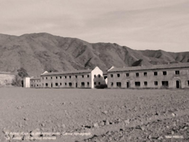 Detalle del mismo poblado minero