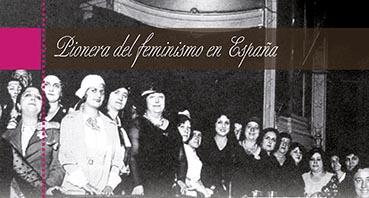 Panel 9 exposición Carmen de Burgos
