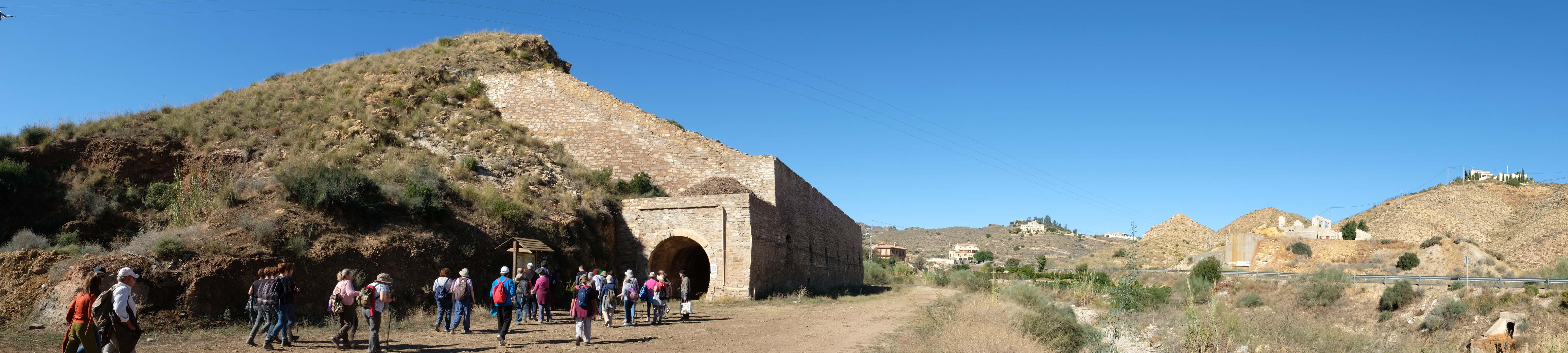 Cargadero de Tres Amigos, punto de partida del antiguo ferrocarril de vía estrecha Bédar – Garrucha © Fotografía: Paco Bonilla