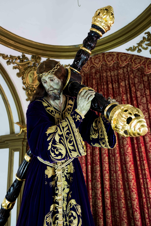 Ntro Padre Jesús Nazareno, de Francisco Salzillo, joya de la imaginería almeriense © Fotografía: Paco Bonilla