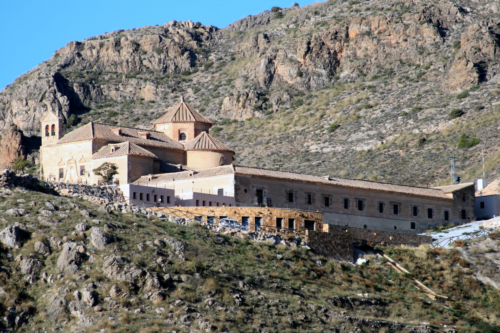 Vista general del Santuario
