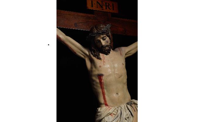Paso Morado. Cristo de la Misericordia © Fotografía Fondo documental de Hermandades y ayuntamiento de Huércal-Overa