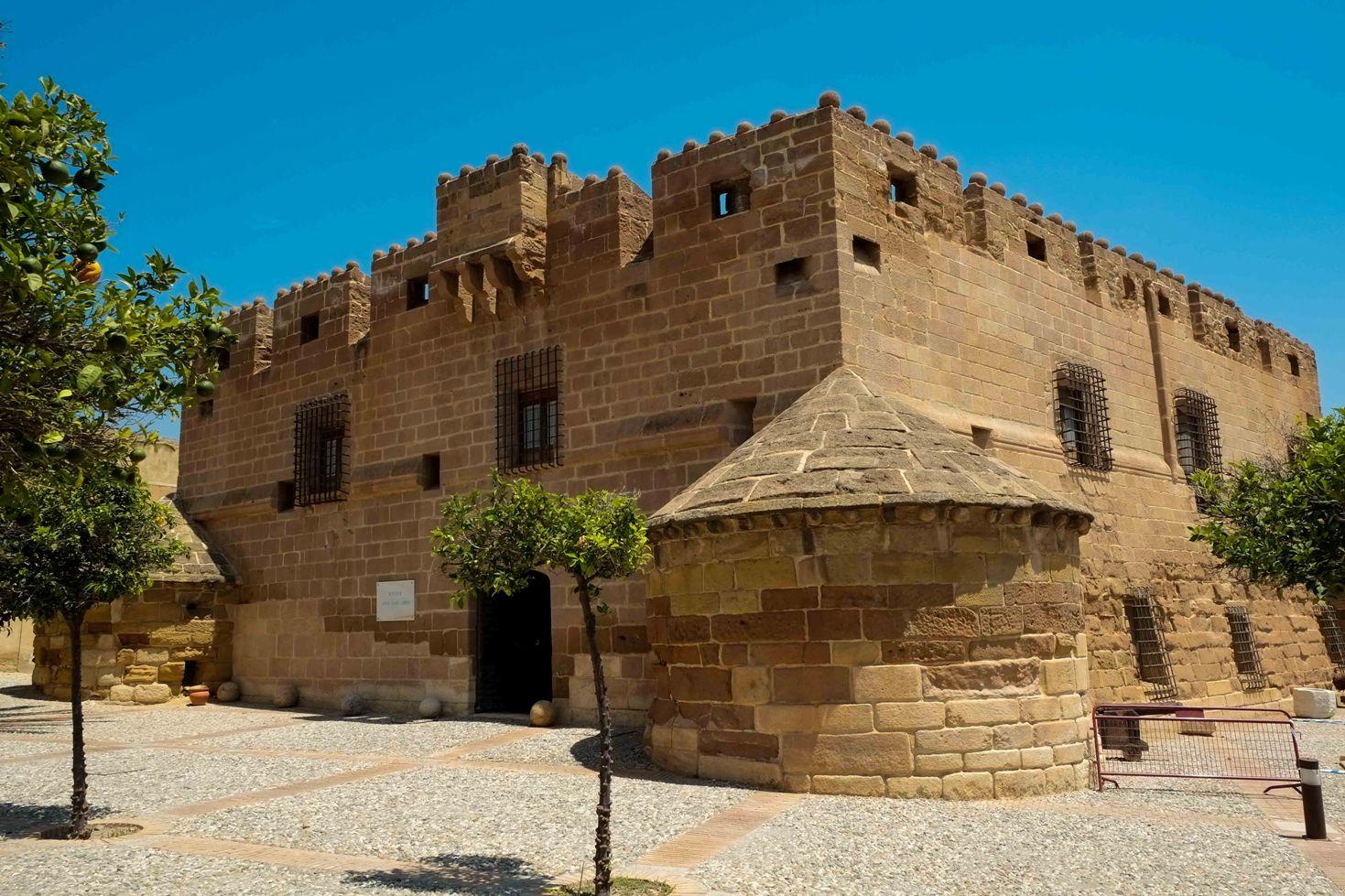 Antiguo palacio de los marqueses y hoy sede del Museo Antonio Manuel Campoy, en el castillo de Cuevas del Almanzora © Fotografía: Paco Bonilla