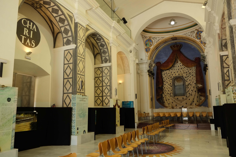 Iglesia del antiguo convento de los Mínimos, rehabilitado como equipamiento cultural. Vera © Fotografía: Paco Bonilla