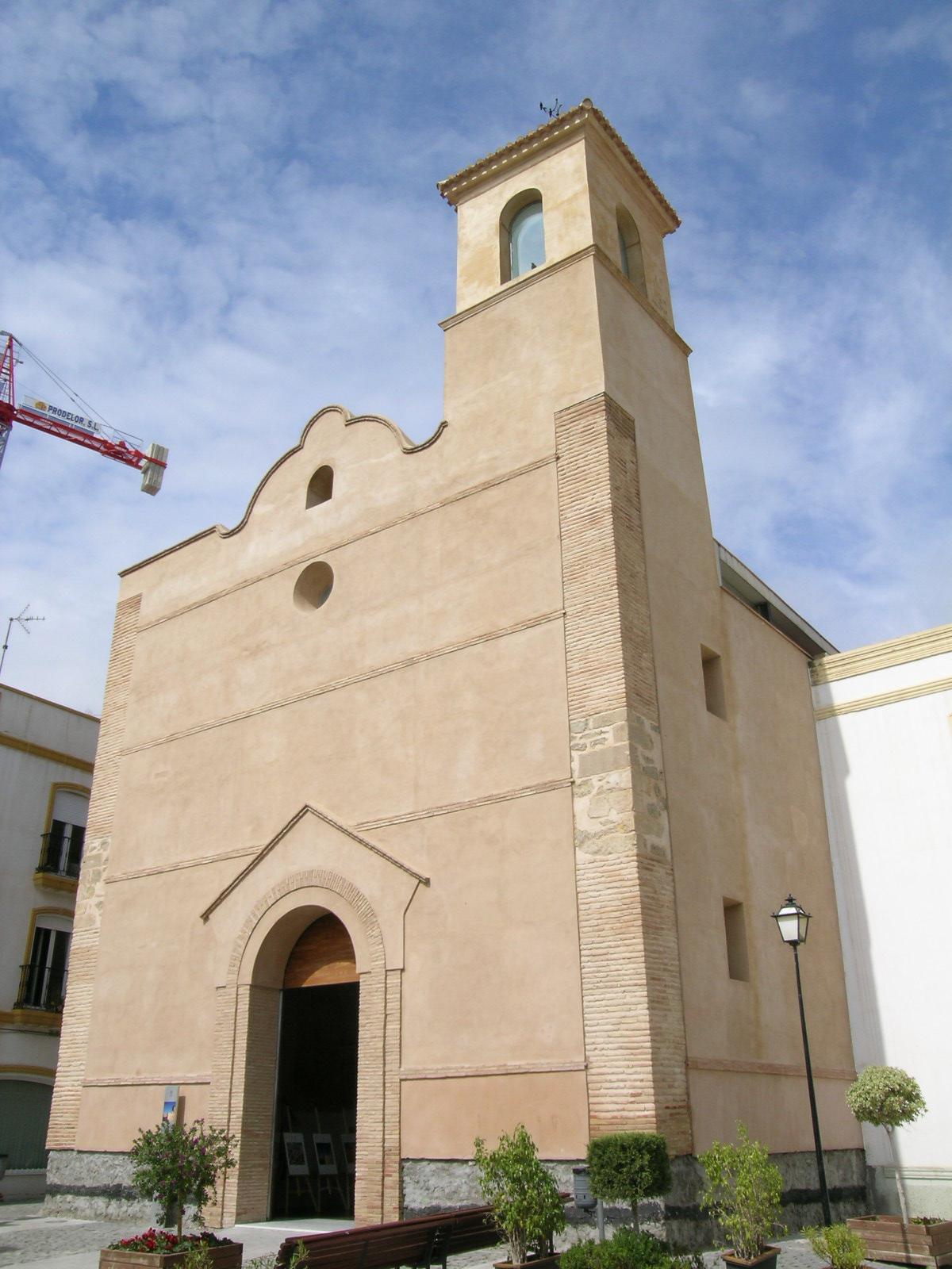 Volumen exterior de la iglesia del antiguo convento de Ntra Sra de la Victoria © Fotografía: Alfonso Ruiz