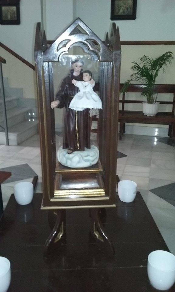Imagen de San Antonio de Padua en Partaloa