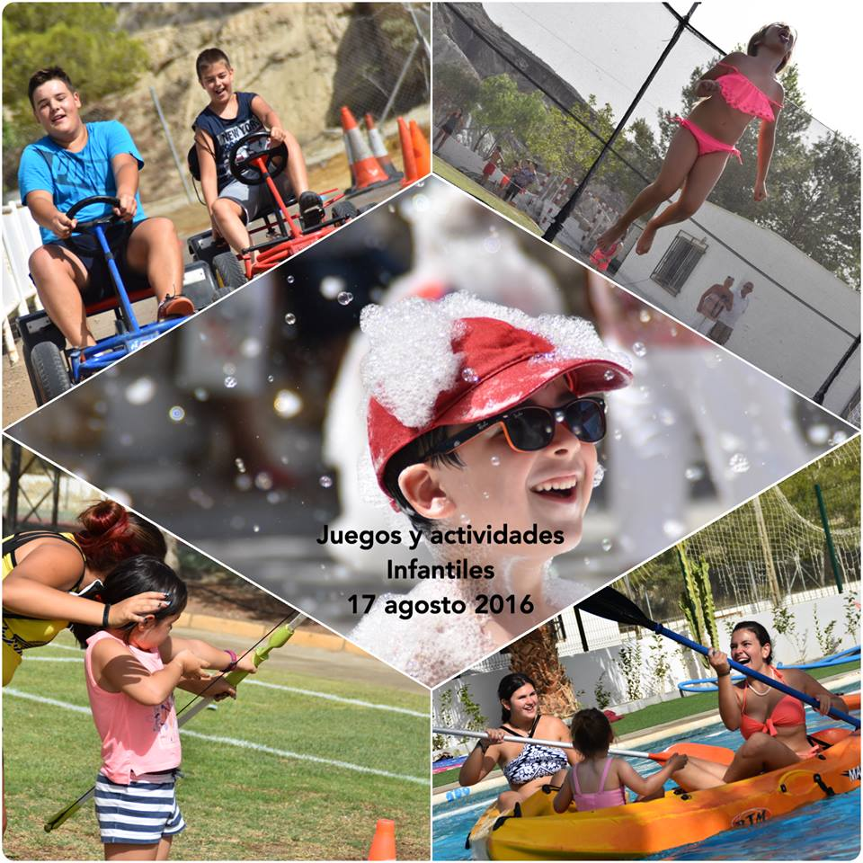 Juegos Infantiles Fiestas de Agosto 2016