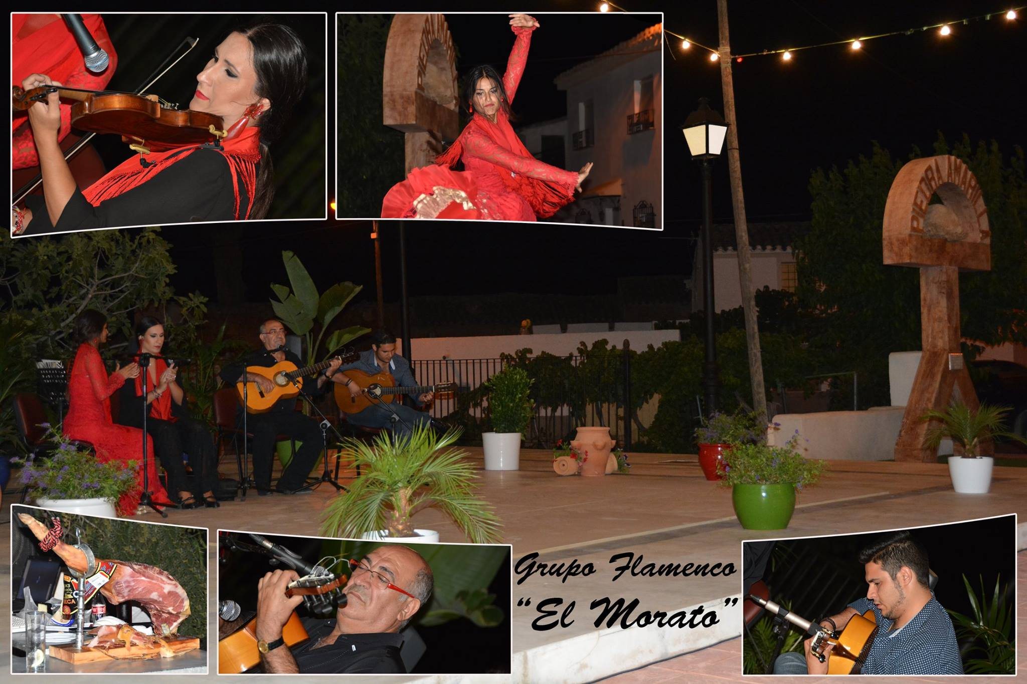 Actuacion Flamenca en Fiestas de Piedra Amarilla