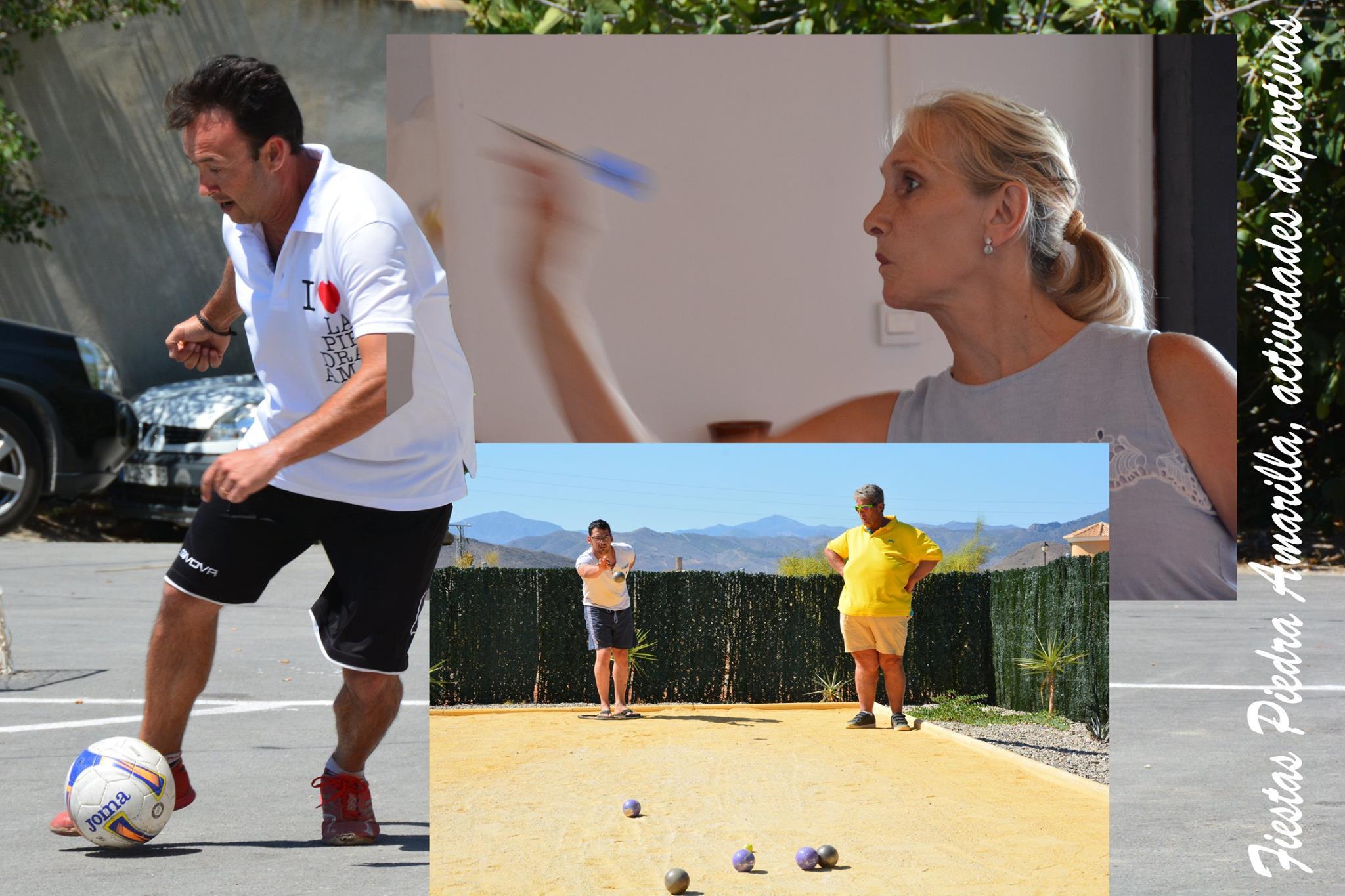 Actividades deportivas en Piedra Amarilla