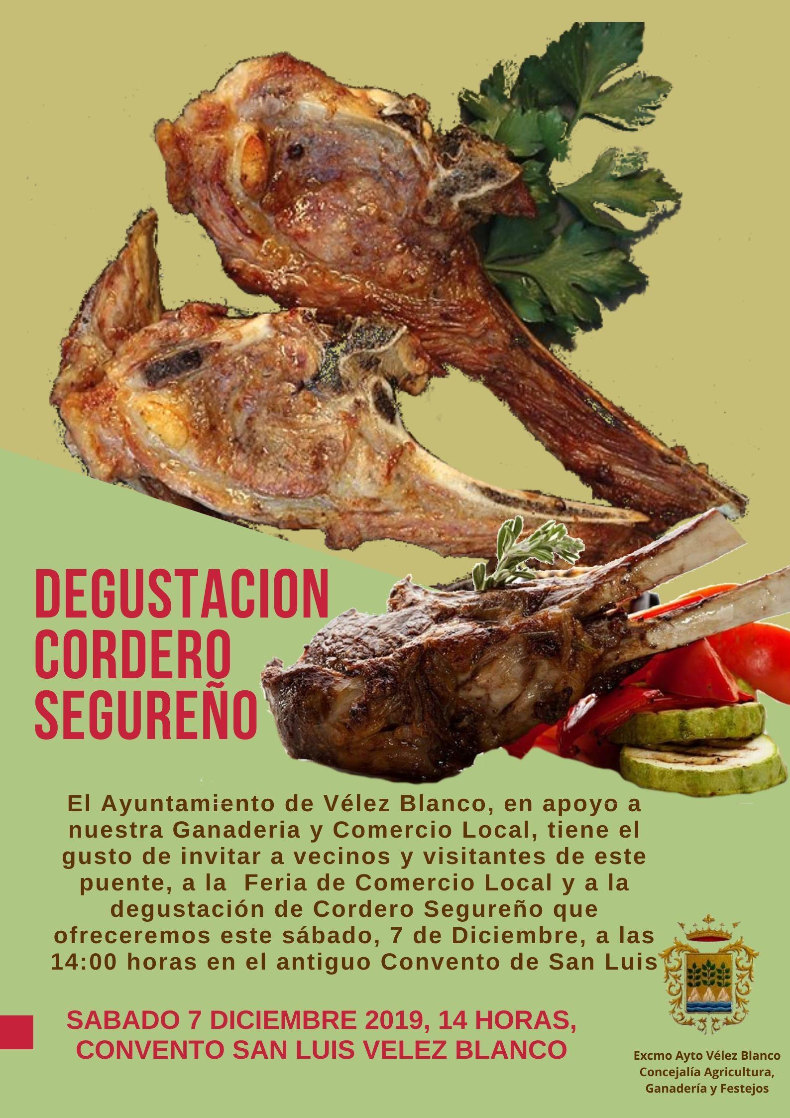 Degustación Cordero Segureño