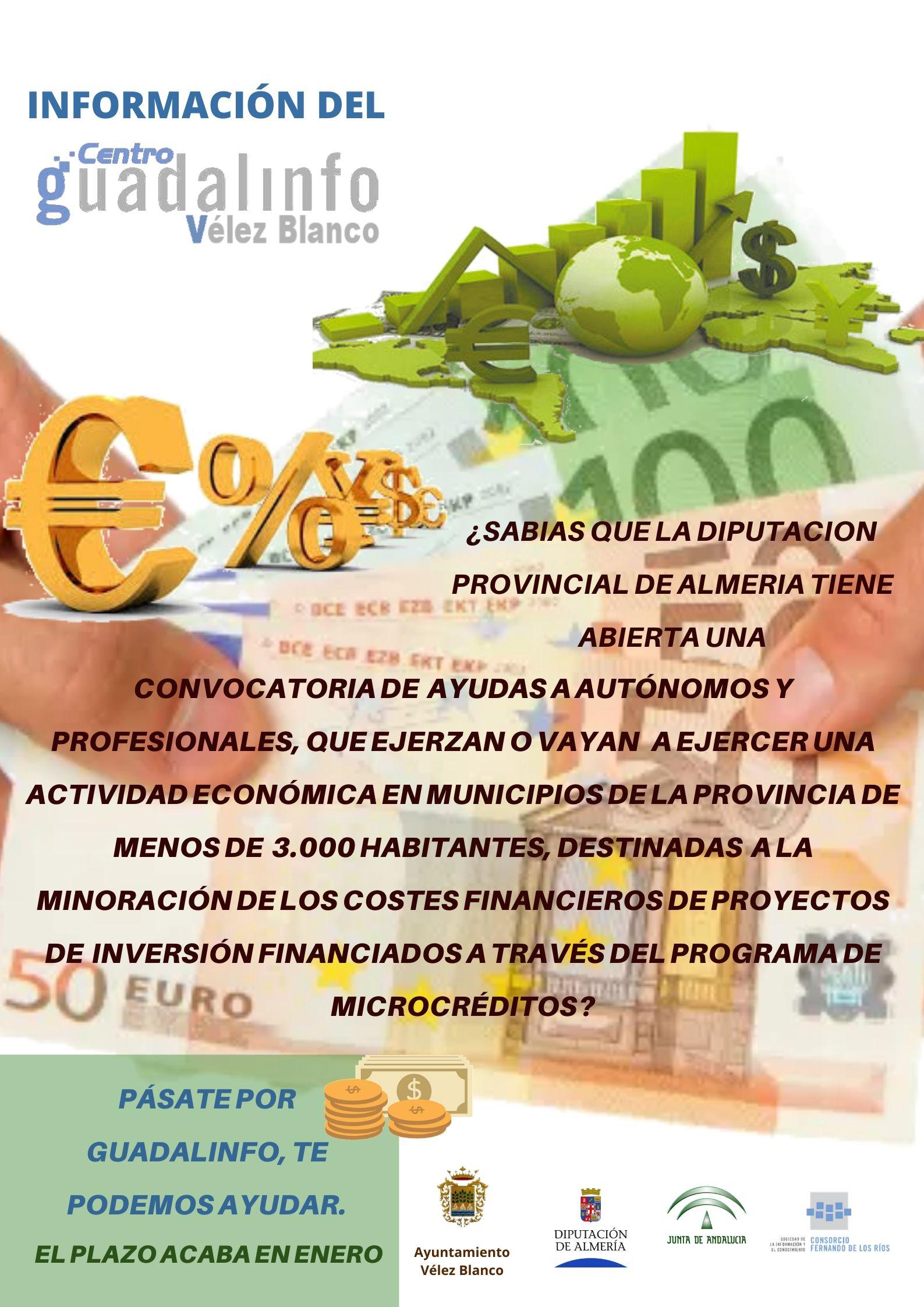 microcreditos diputacion almeria