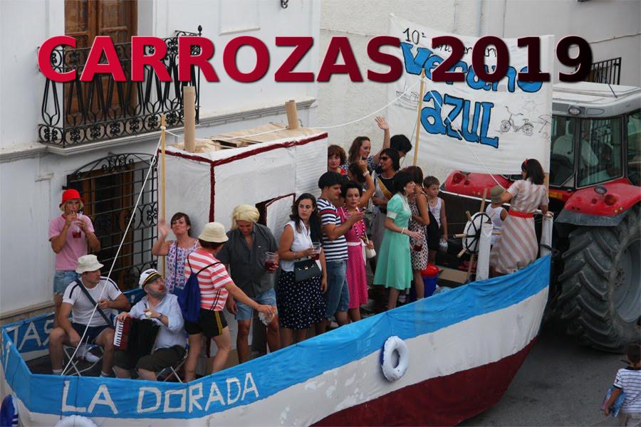 Información Carrozas Fiestas Agosto 2019