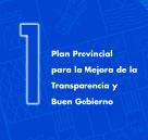 Plan Provincial para la mejora de la Transparencia y Buen Gobierno