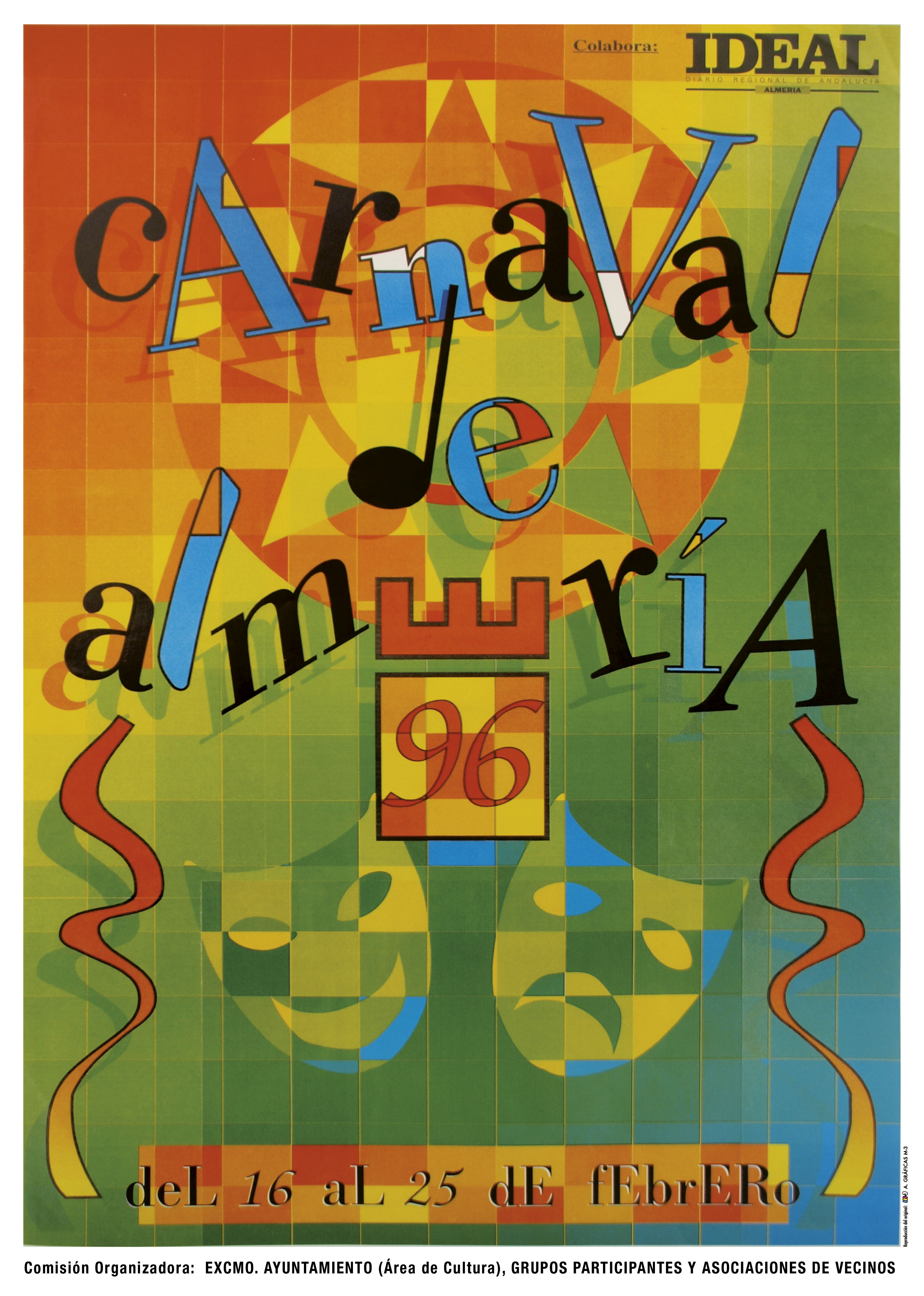 0   Carteles oficiales contemporaneos del carnaval de Almería (1983 ...