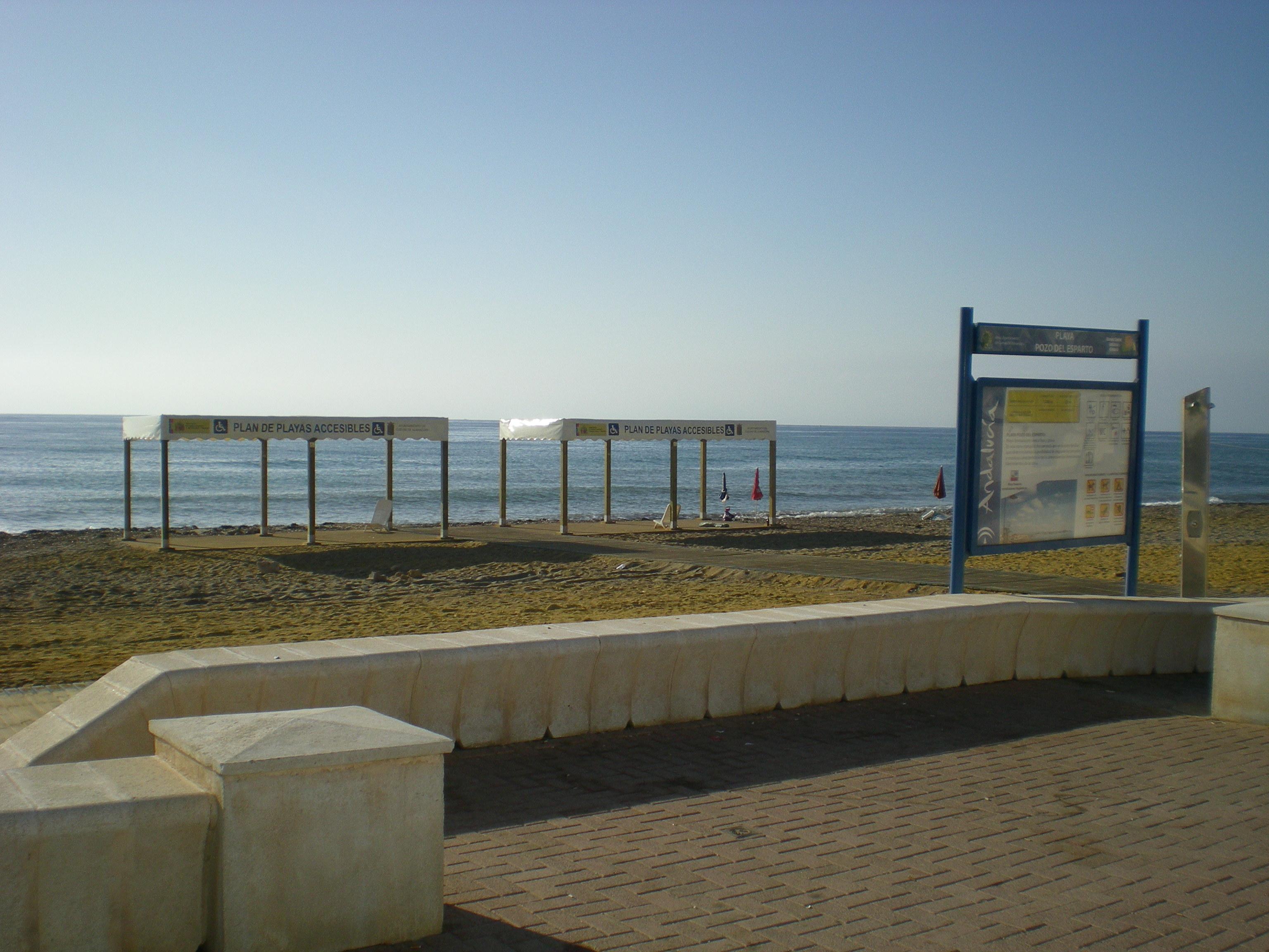 Playa de Pozo Del Esparto